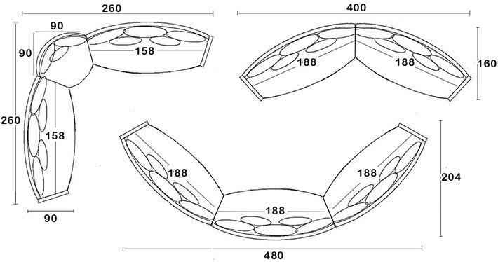 Divani angolari imperial - Divano angolare piccole dimensioni ...