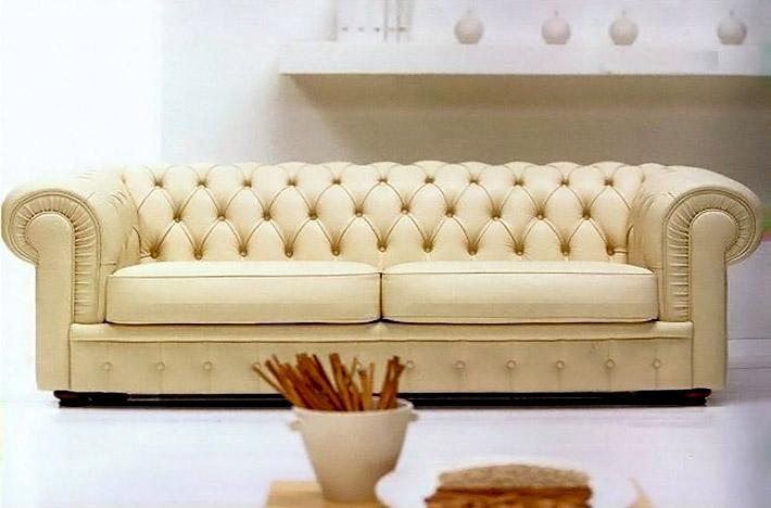 Divani classici chester chesterfield - Divano classico lusso ...