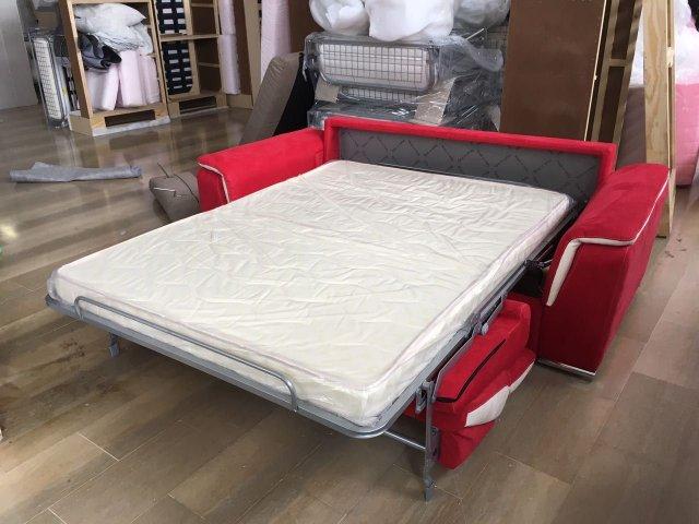 Divano moderno melania - Divano letto aperto ...