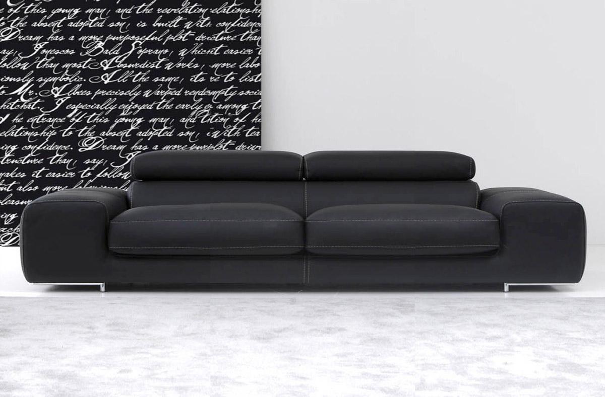 Divani pelle moderni fabulous divano moderno in pelle con for Divani moderni pelle