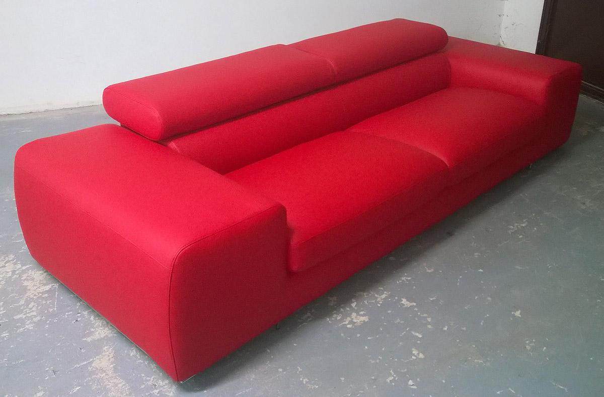 Divano Rosso Ecopelle : Divano letto ecopelle rosso ~ idee di design per la casa