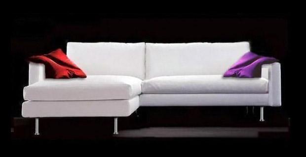Divani in pelle design cindy for Divano 210 cm