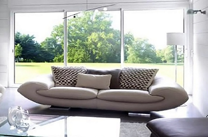 Divani Rotondi Design: Sgabello tavolino in cristalplant...