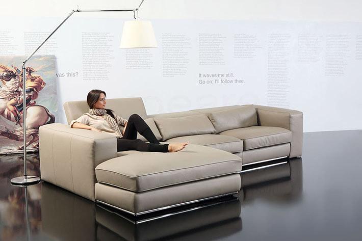 Divani moderni forma for Rivestire divano ecopelle costo