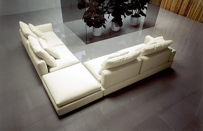 Divani moderni hilda - Offerta divano angolare ...