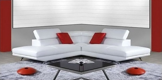 Divani in pelle design principe - Copridivano angolare per divano in pelle ...