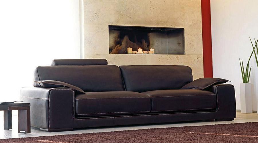 Divani in pelle design puglia for Confalone divani