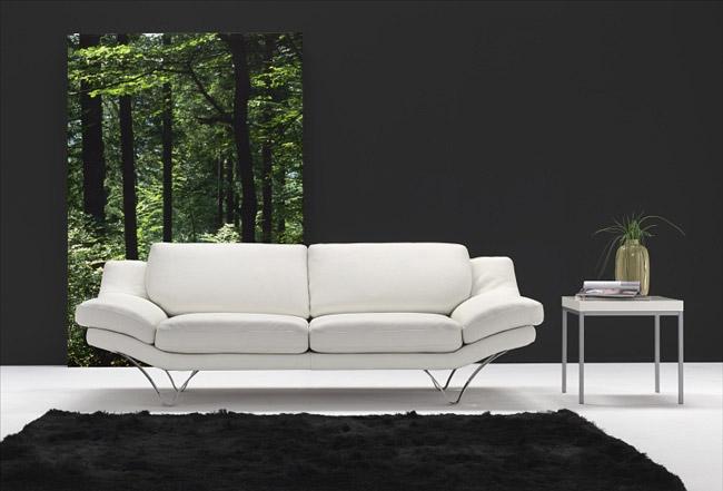 divani in pelle design santa