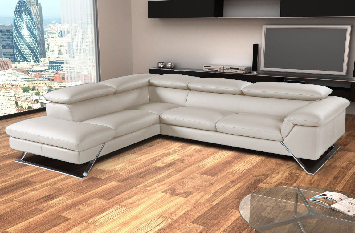 Divano Bianco Angolare ~ Idee per il design della casa