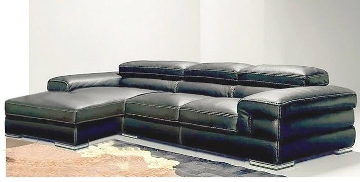 Divano angolare con chaise longue Mobydik