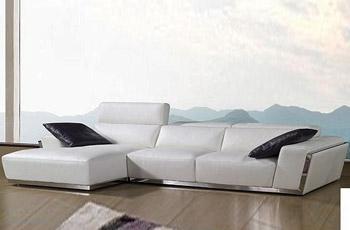 Divano angolare con chaiselong 320x180 cm