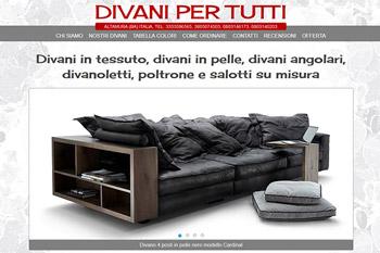 Divani classici calia maddalena for Offerte divani angolari in tessuto