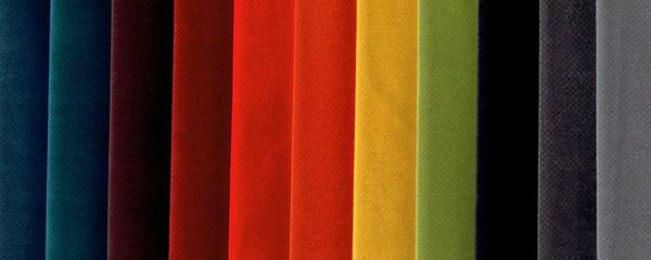 Tessuti e colori per divani Calia Maddalena